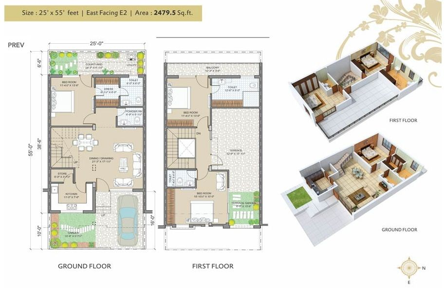 House Plan 25 X 50 Best Of East Facing House Plans For 25 50 Site Of House Plan 25 X 50 Awesome Alijdeveloper Blo 3d House Plans Duplex House Plans Floor Plans