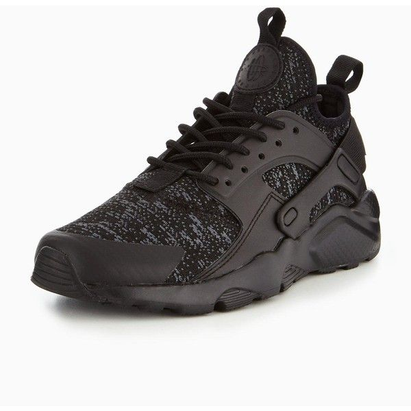 0d2226f5fc3a5 Nike Nike Air Huarache Run Ultra Se Bg Junior Trainer ( 97) ❤ liked on  Polyvore featuring shoes