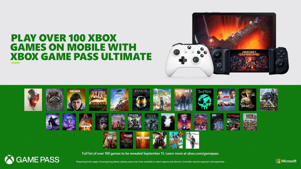 Xbox Project xCloud disponible el 15 de septiembre, será