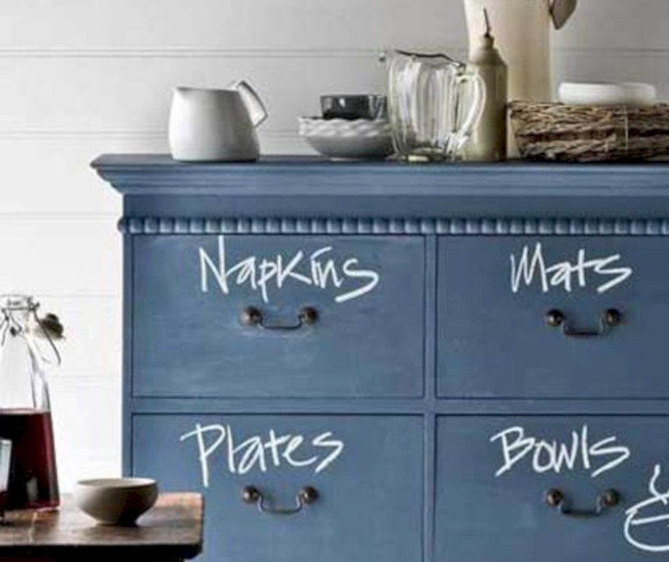 32 Inspiring Ways to Use a Chalkboard Paint on a Kitchen ...