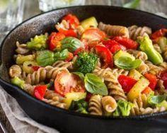 Poêlée CroqKilos de torsettes complètes aux brocoli, tomates et poivrons