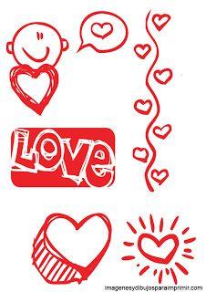 Dibujos De Amor Para Imprimir Imagenes Y Dibujos Para Imprimir Stencils Cards My Favorite Things