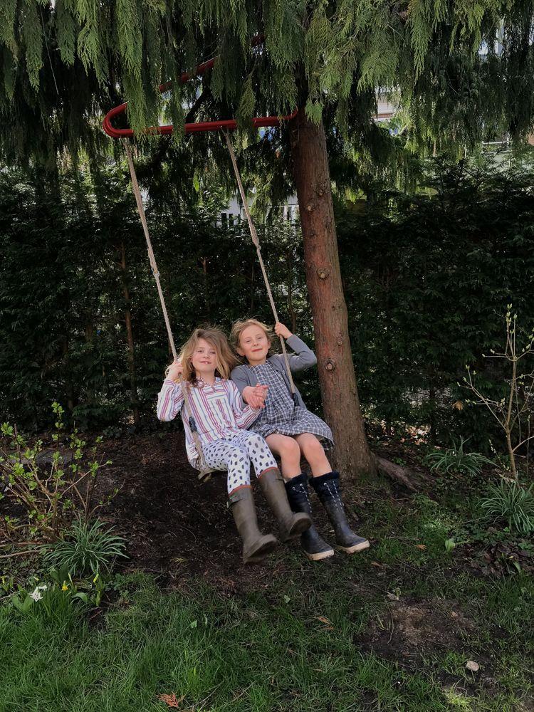 Weltevree A Swing In A Tree Without A Branch In 2020 Kids Swing Nature Kids Kids