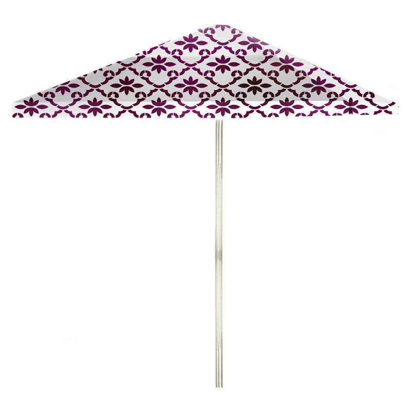 Best Of Times 60 Ft Aluminum Patterned Patio Umbrella 60W60 Best Patterned Patio Umbrellas
