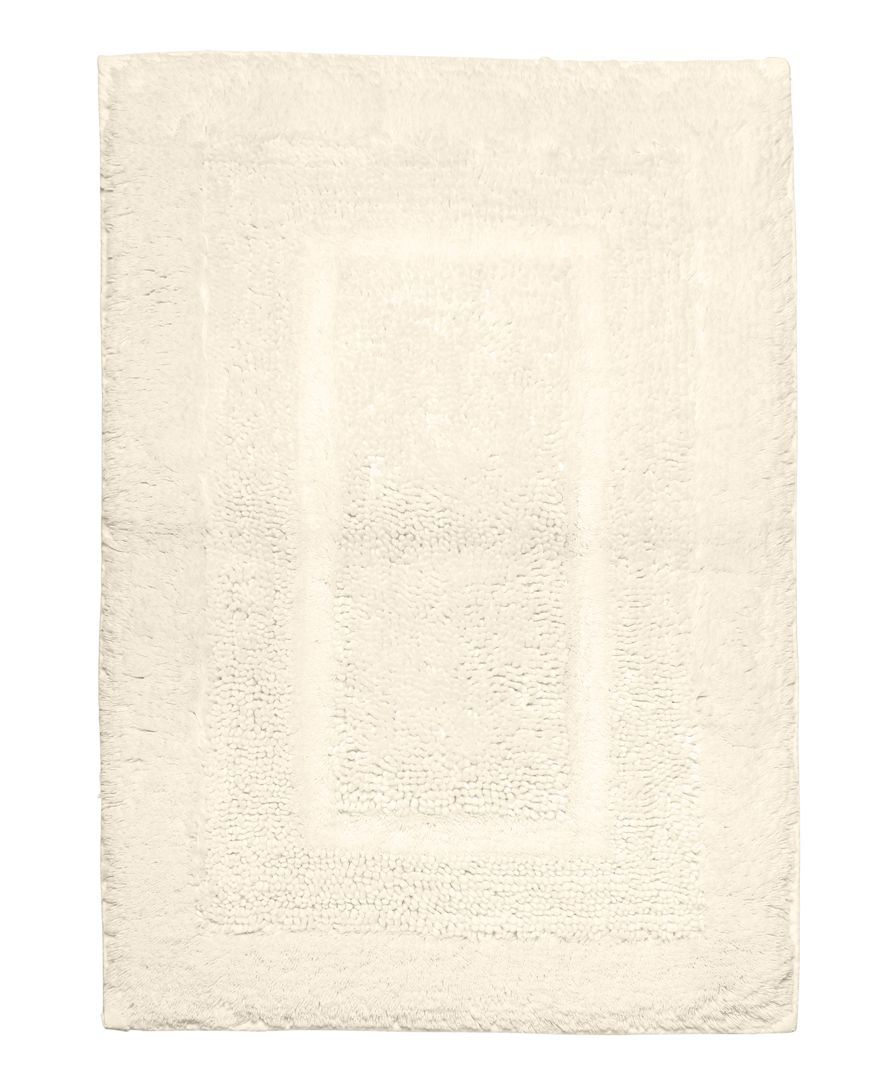"""Martha Stewart Collection Plush Squares Cotton 17"""" x 24"""" Bath Rug, Only at Macy's"""