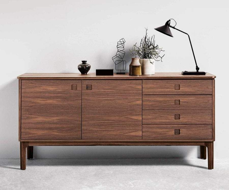 Sundby 4 Door Cabinet In 2020 Sideboard Designs Sideboard Scandinavian Design Contemporary Sideboard