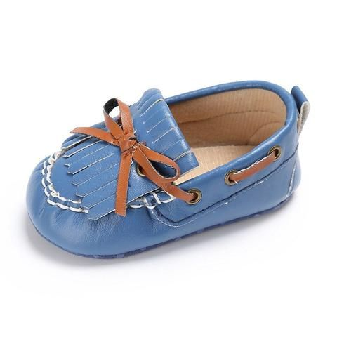 a6c85a125e7 PU Leather Baby Girl Crib Shoes Summer Fringe Bowknot Newborn Baby Shoes  Soft Sole Infant Girl First Walker Toddler Casual Shoes