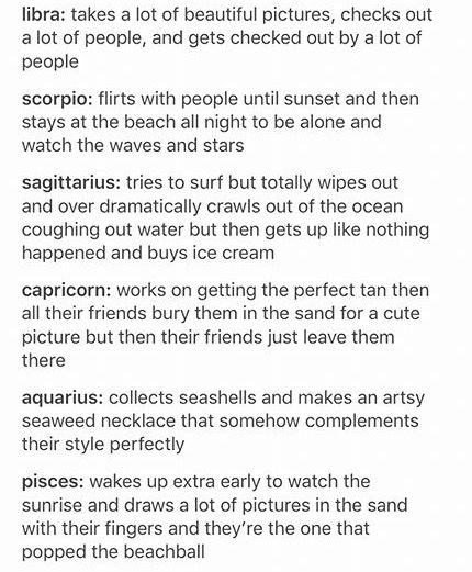 Signs at the beach | Sagittarius | Zodiac signs, Zodiac, Zodiac society
