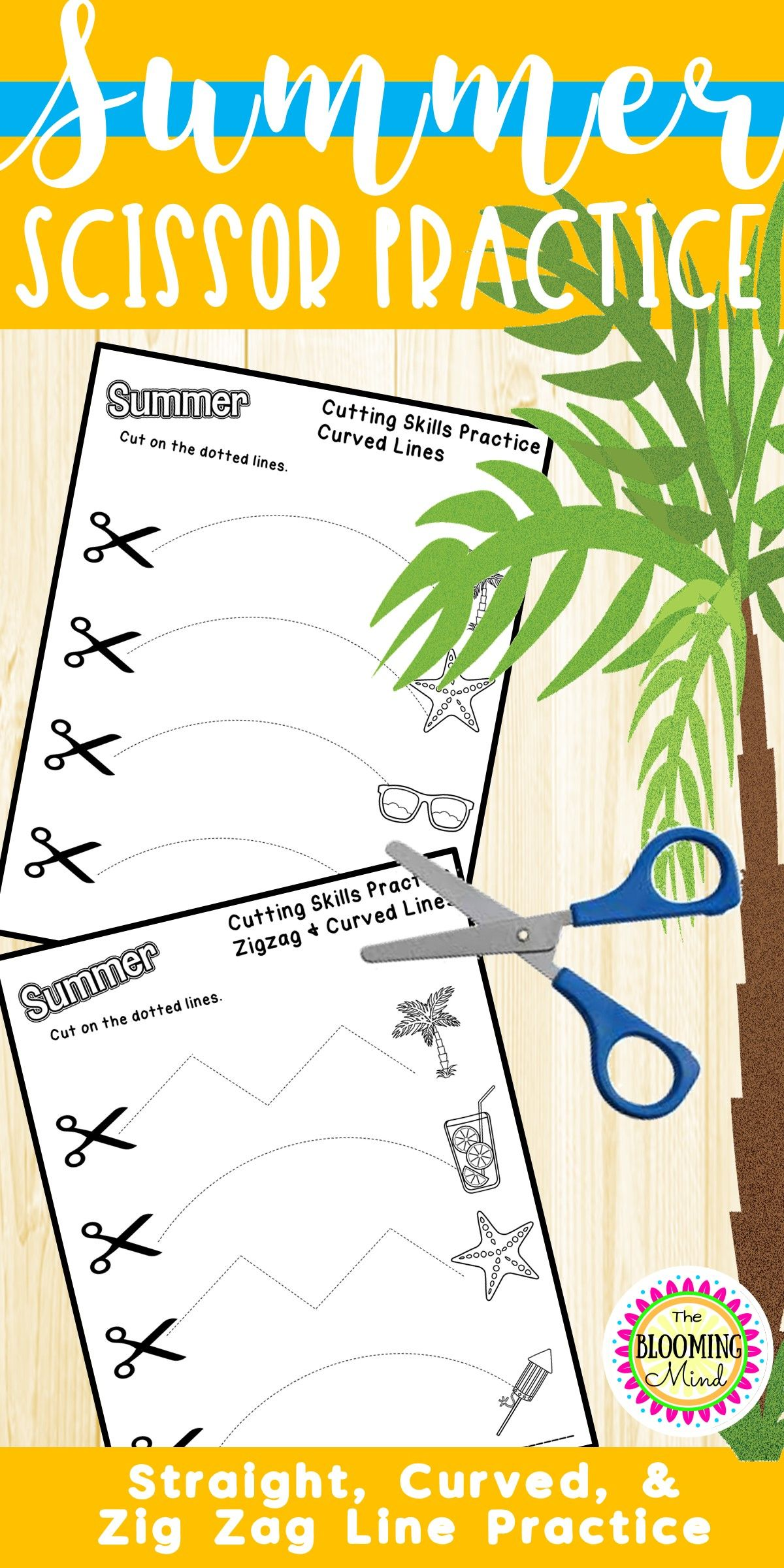 Summer Scissor Skills