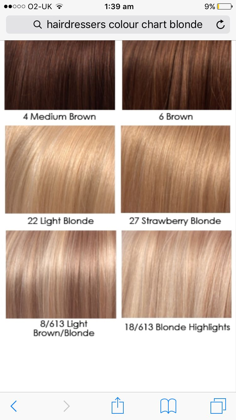 Hair Color Chart Image By Lisa Johnson On Lisa Blonde Hair Color