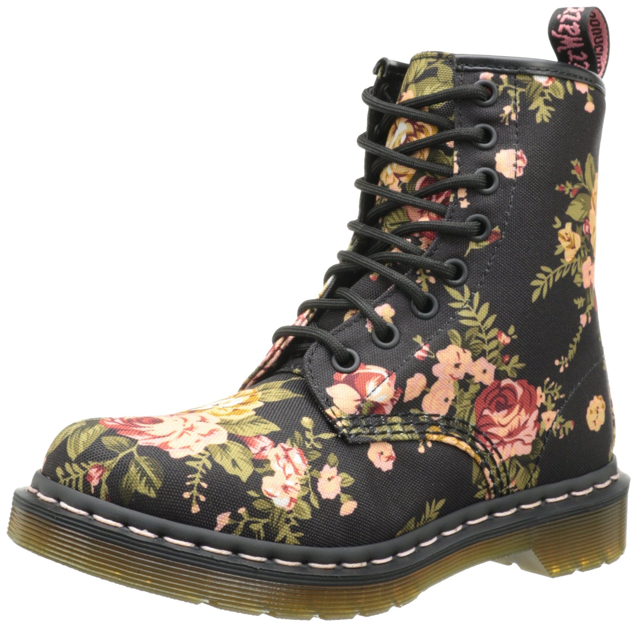 Dr. Martens Dr. Martens 1460 Pascal Rose Fantasy (Multi) Women's Boots from Zappos | ShapeShop