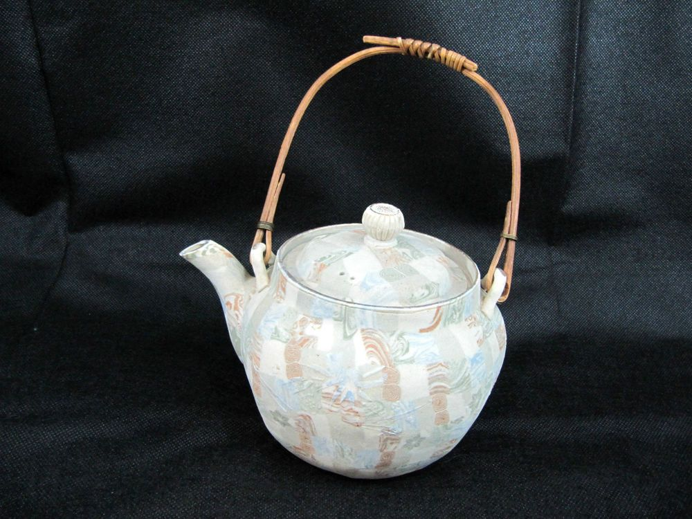 Details About Antique Japanese Banko Teapot C1910 In