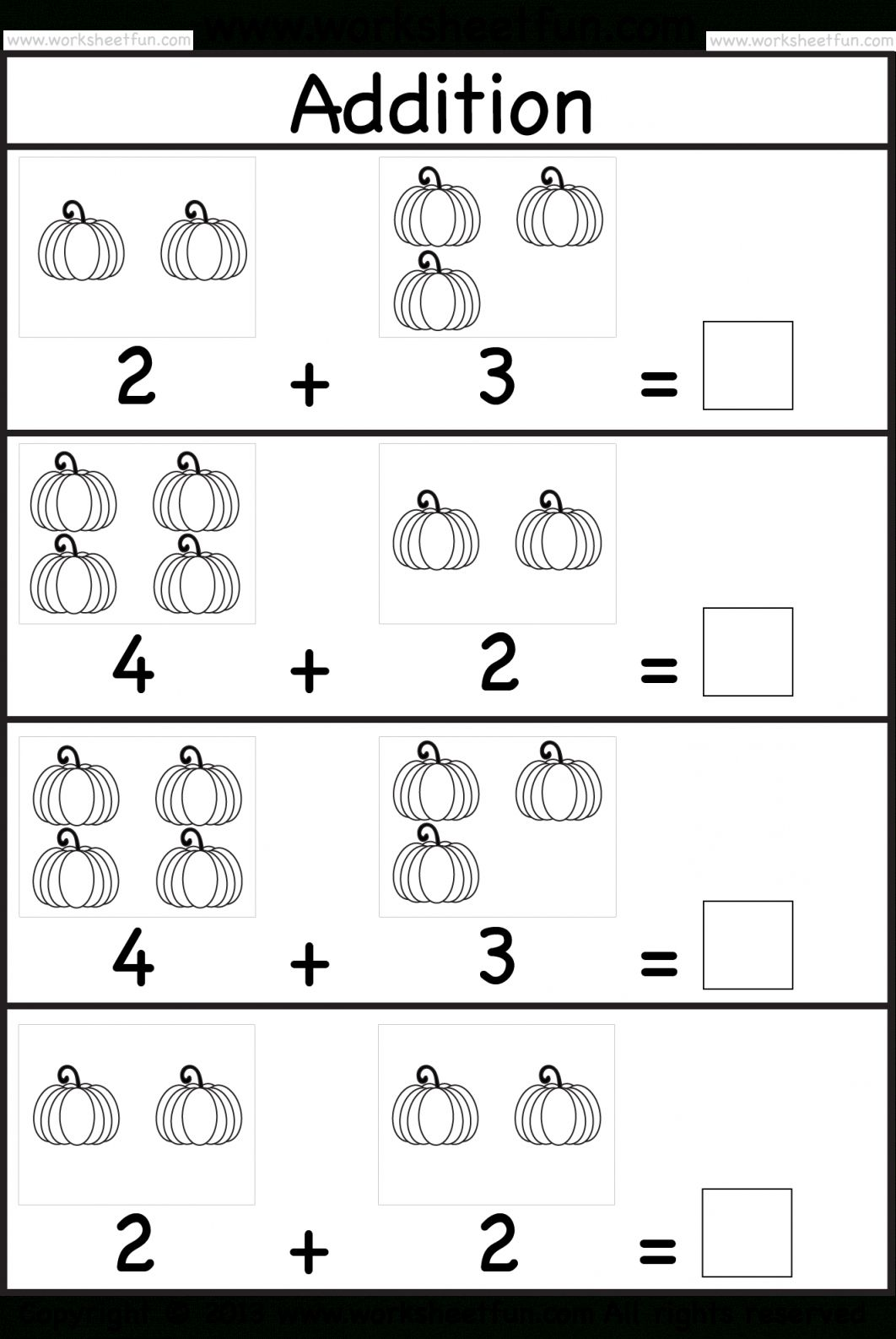 33 Simple Kindergarten Math Worksheets For You Math Addition