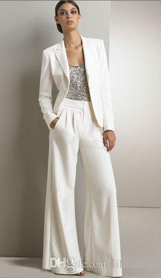 Ladies Evening Wear Pant Suits