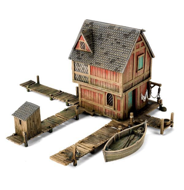 Lake Town House Games Workshop Floating Architecture House Games