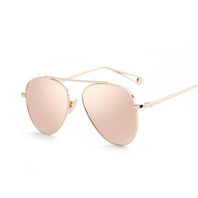 Designer Spiegel luxus marke design aviation sonnenbrille frauen designer spiegel