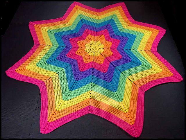 Ravelry: Compass pattern by Buttonnose Crochet | CROCHET BLANKETS ...