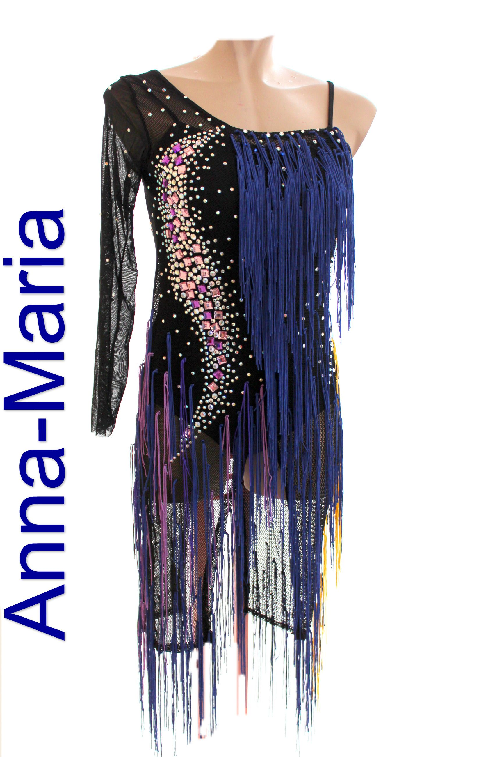 f932dc0bf3e latin dress by Anna-Maria couture Dance Dresses, Dance Wear, Dancing Outfit,