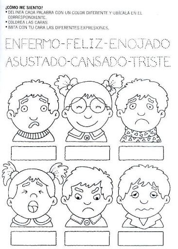 pintar y jugar: actividades para preescolar | Fichas | Pinterest ...
