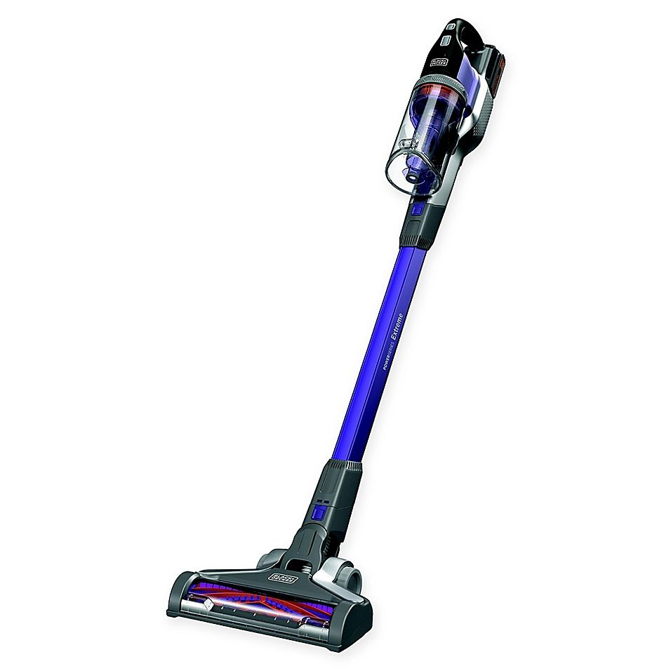 Black Decker Powerseries Extreme Removable Battery Stick Vacuum In 2020 Stick Vacuum Black Decker Vacuums