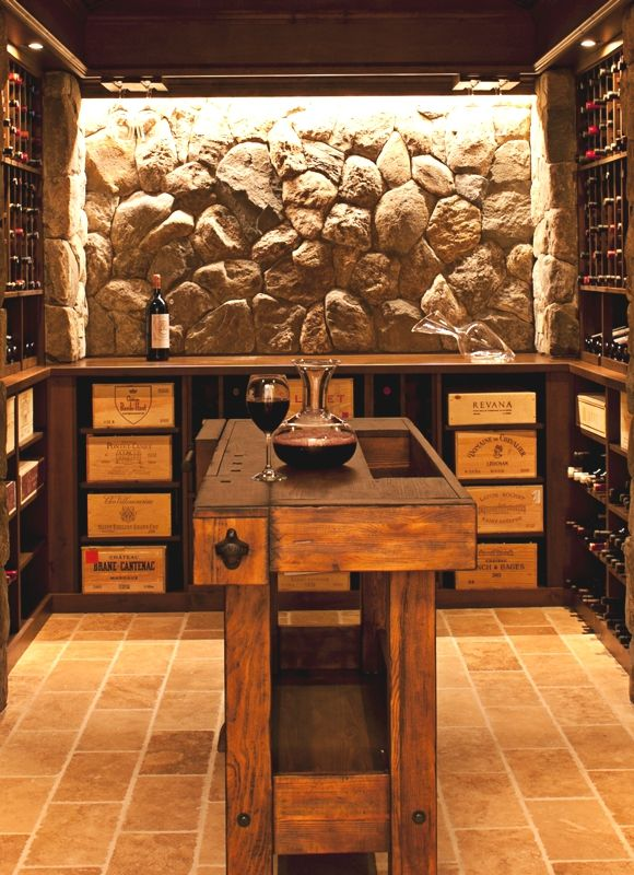 Here S An Example Of An Island In The Middle Of A Cellar