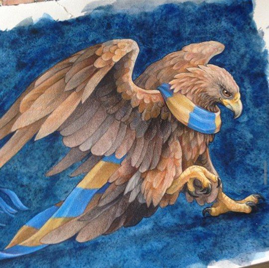 If I could choose a house to be in it would be Ravenclaw...and Gryffindor, of course!! But I'd probably end up in Hufflepuff .