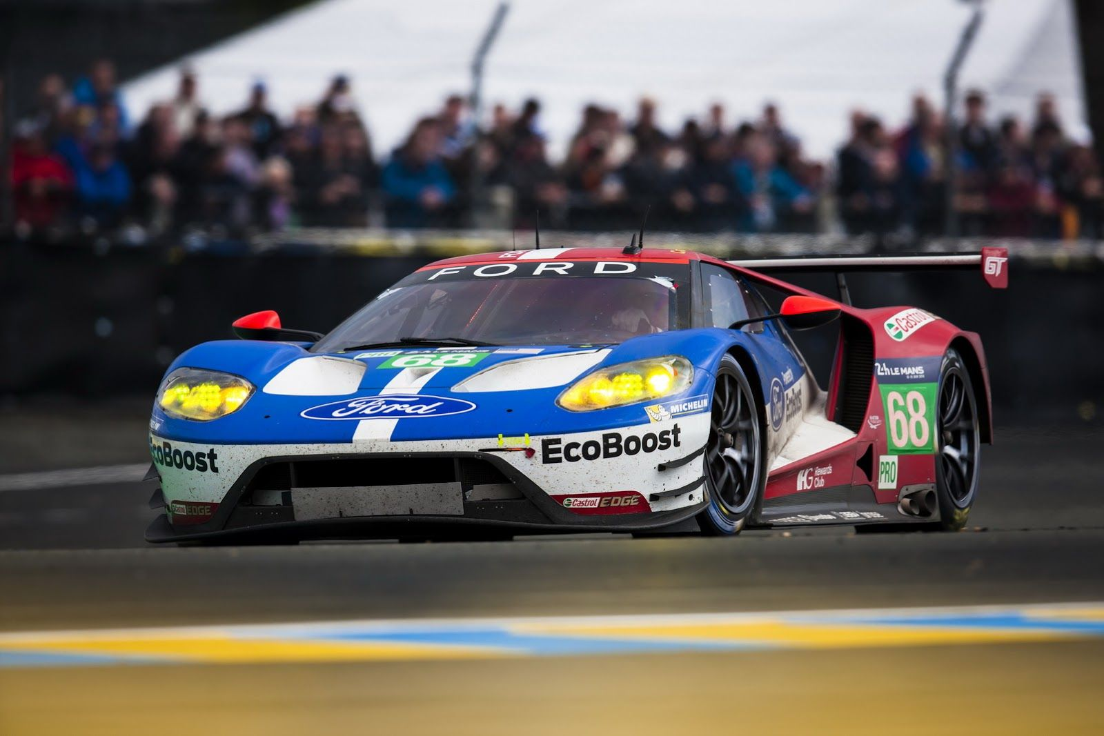 All New Ford Gt Wins Gte Pro Class In Le Mans 24h Race I Actually