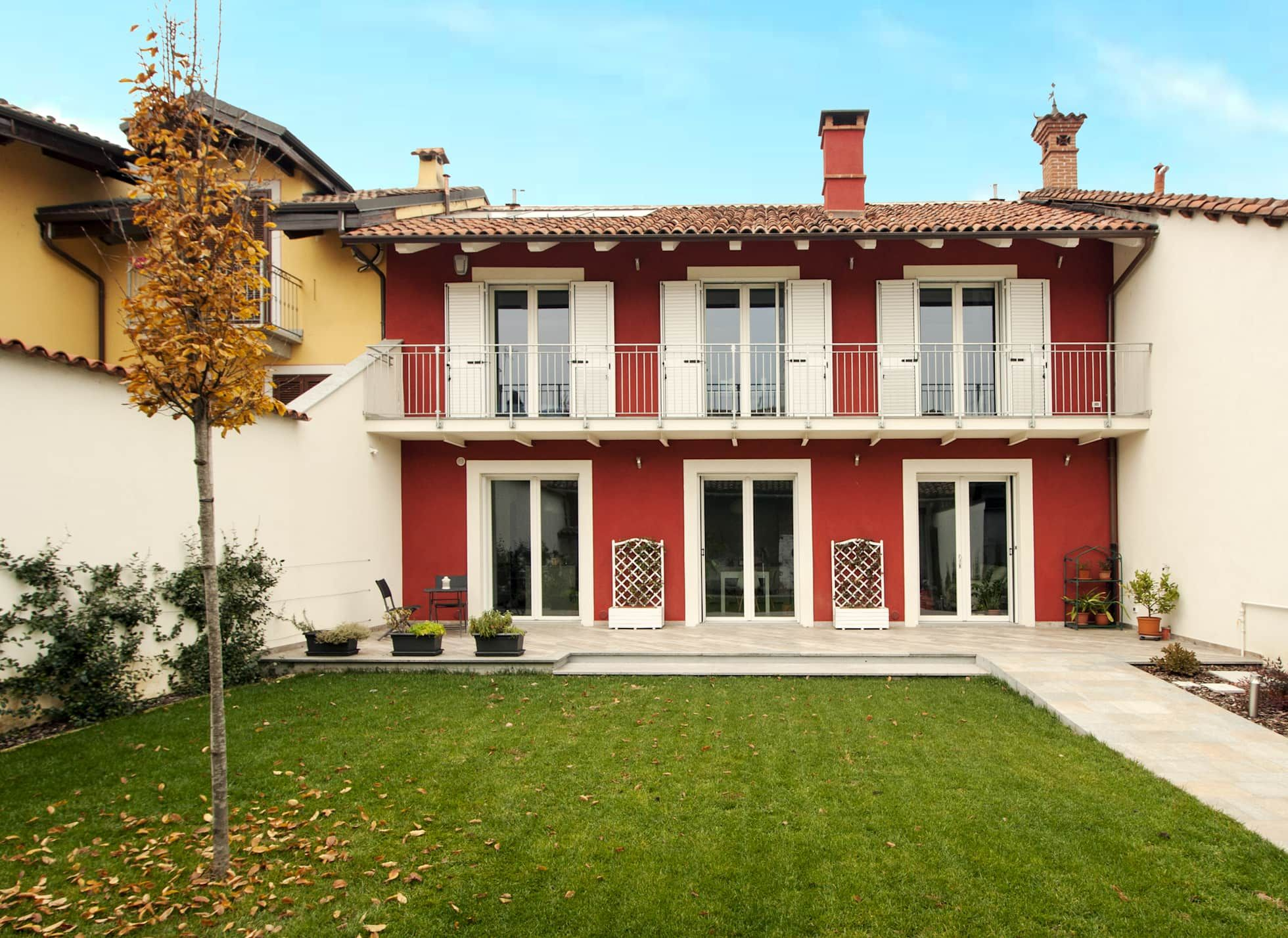 Facciata Casa Di Campagna la facciata principale di archispritz moderno | esterni casa