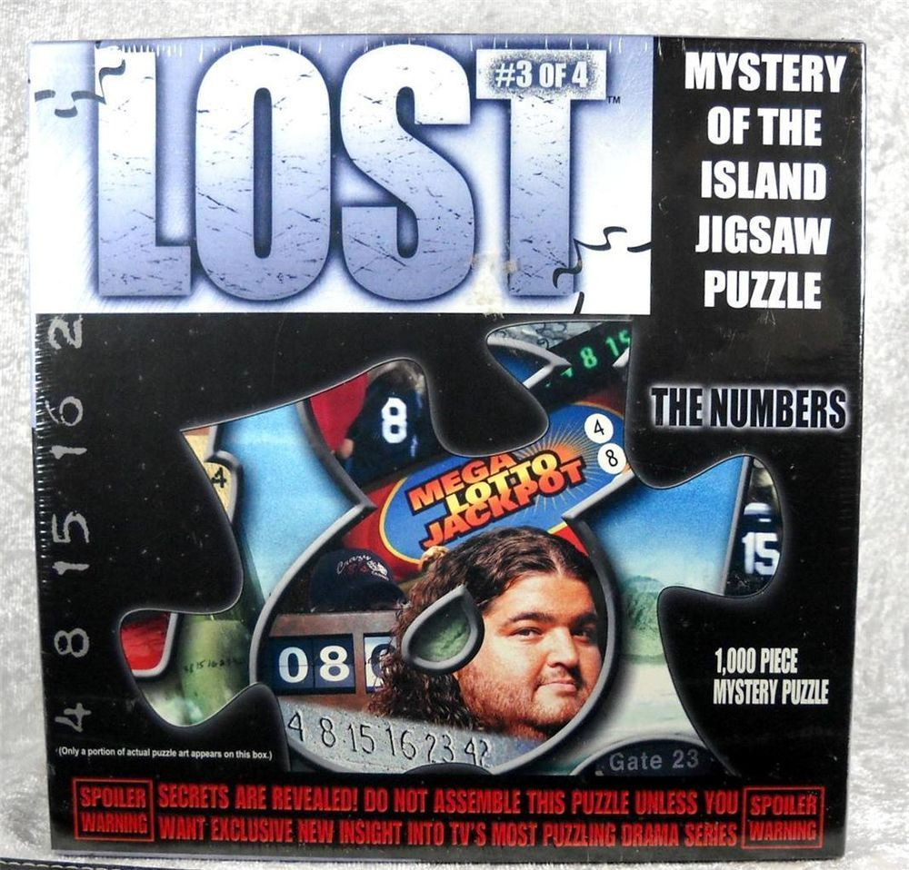 Lost Jigsaw Puzzle Mystery Of The Island 3 Of 4 The