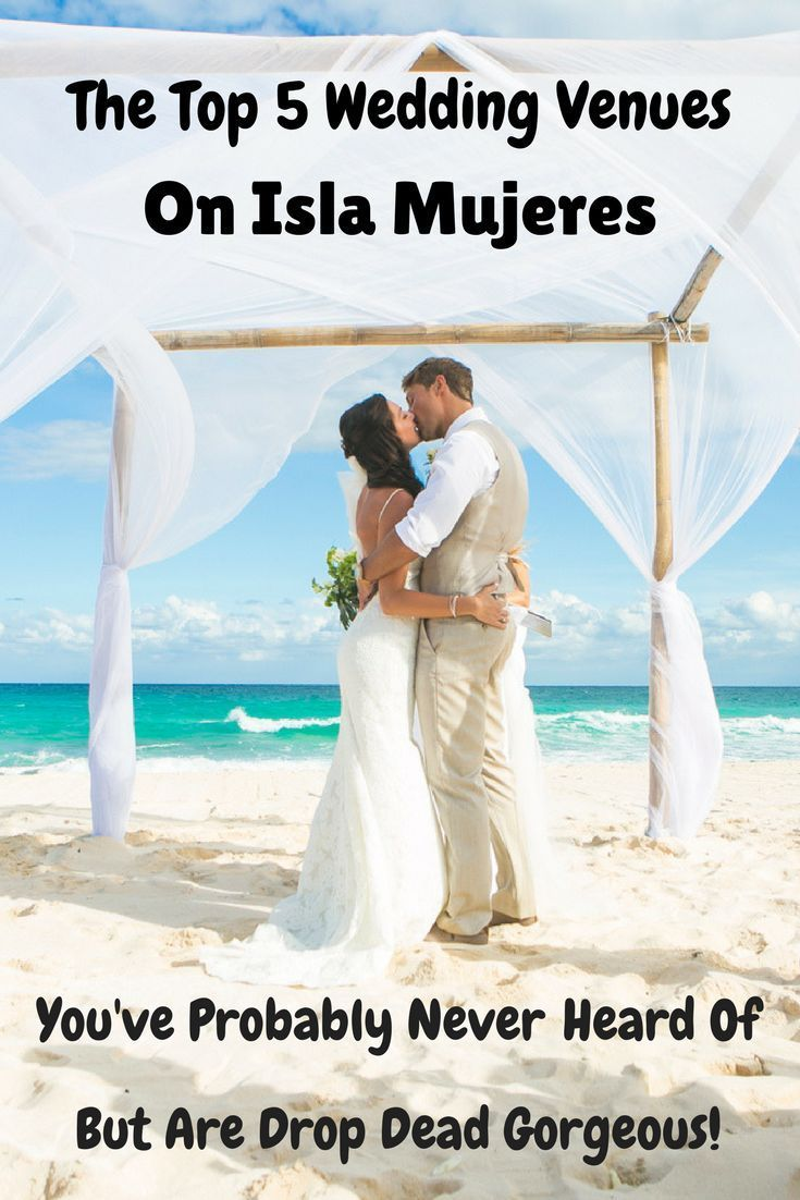 the top 5 wedding venues on isla mujeres that you probably never