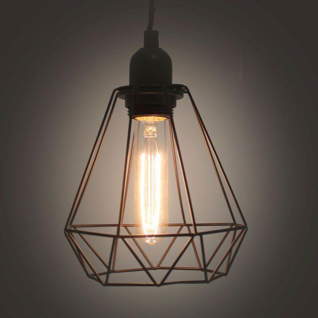 suspension avec ampoule potiron cliquez sur l 39 image pour. Black Bedroom Furniture Sets. Home Design Ideas
