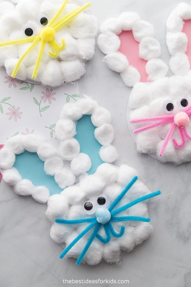Bunny Craft - The Best Ideas for Kids