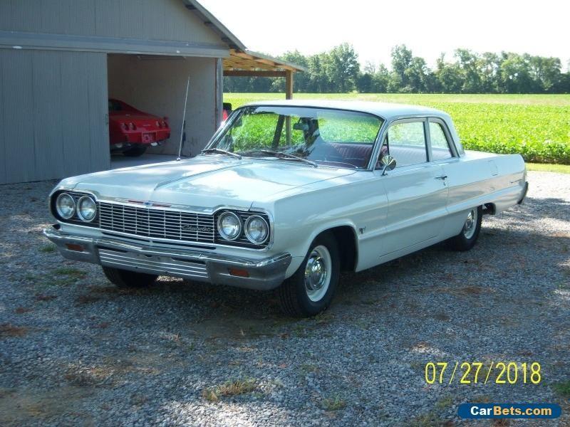 Car For Sale 1964 Chevrolet Bel Air 150 210