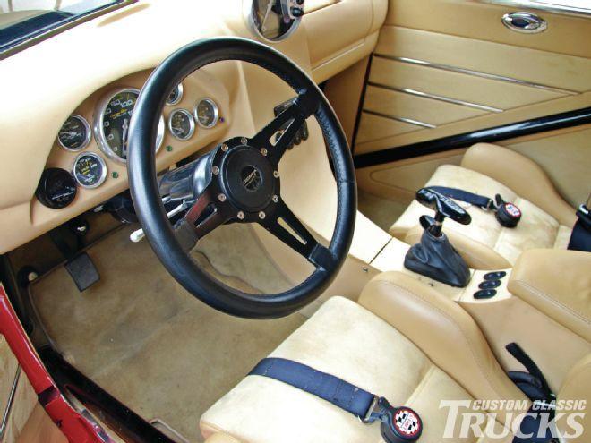 1946 Chevy Pickup Interior