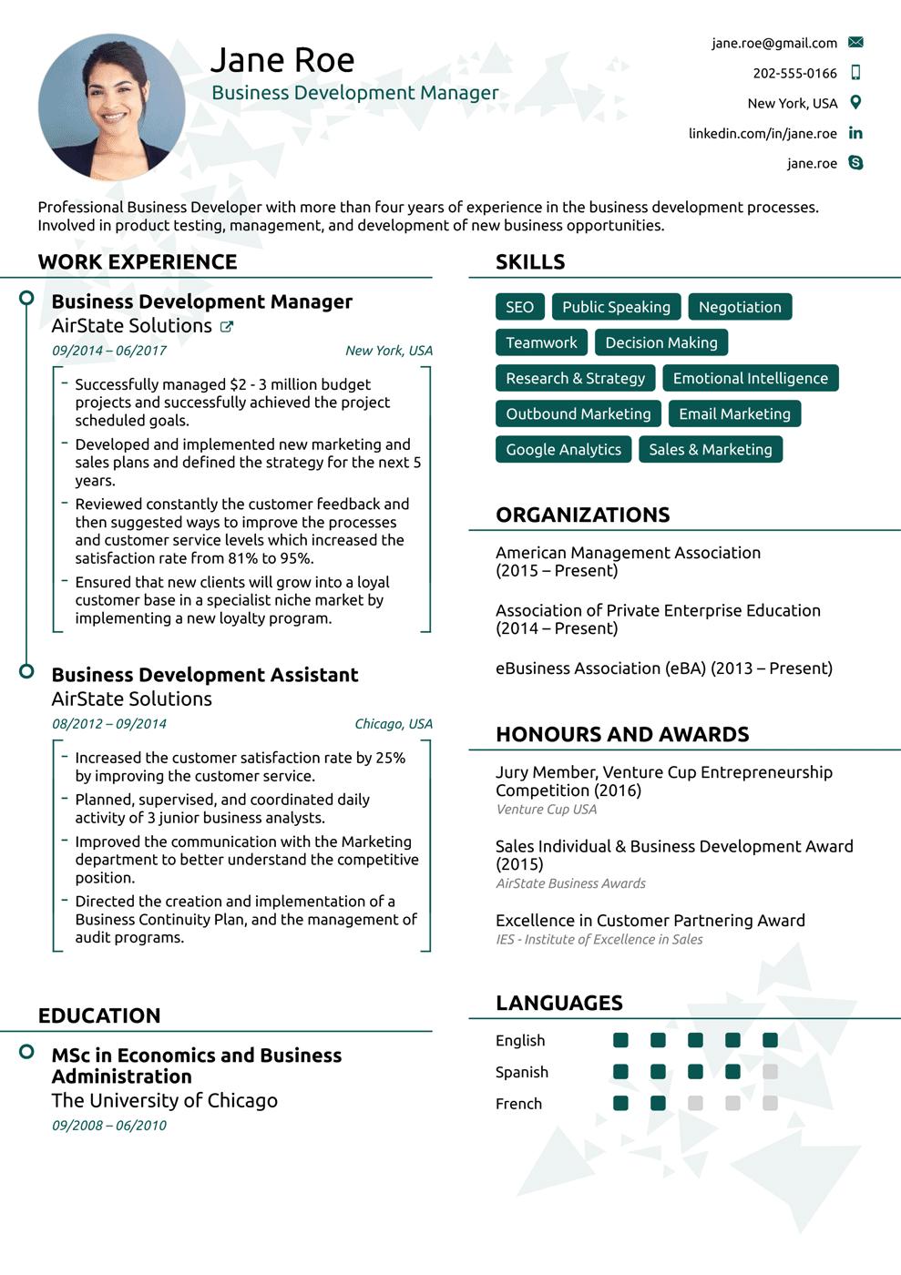 Template 2018 Online resume template, Resume template