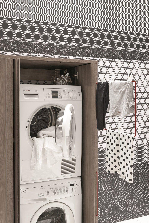 armoire de buanderie birex acqua e sapone portes cach es nouveau design pinterest. Black Bedroom Furniture Sets. Home Design Ideas