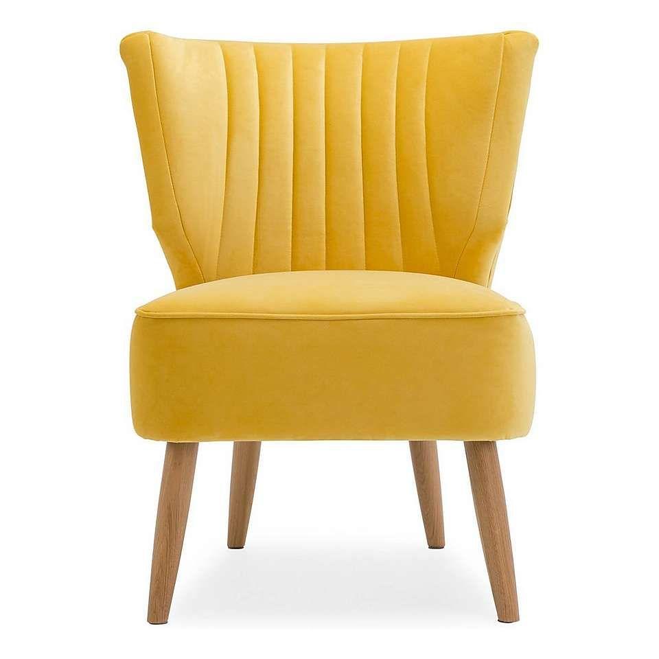 Eva velvet wingback cocktail chair apartment goals pinterest