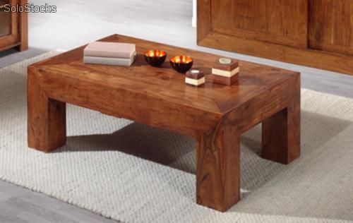 Mesa de centro en madera maciza de palisandro proyectos que intentar pinterest - Muebles lucena liquidacion ...