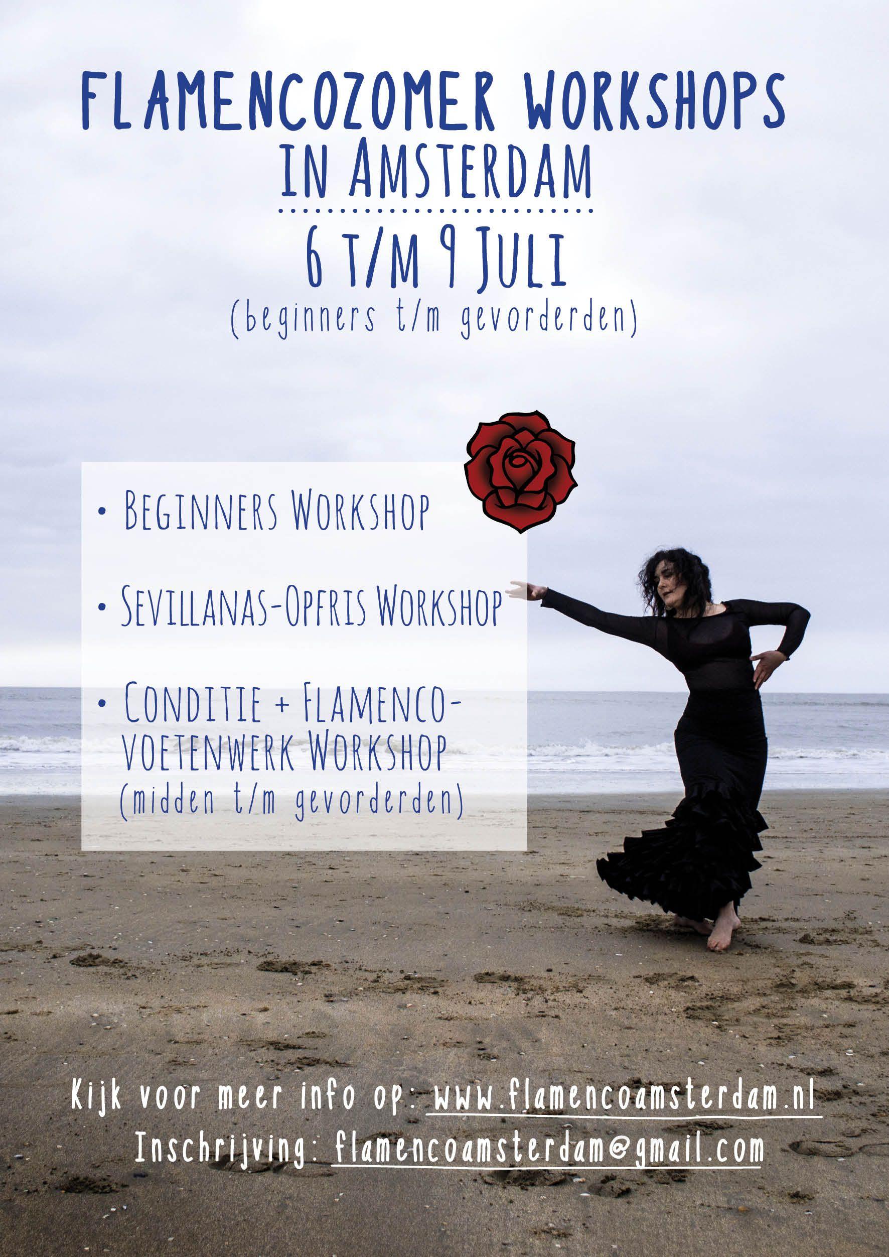 #Flamenco #Flyer #Summer #Workshops