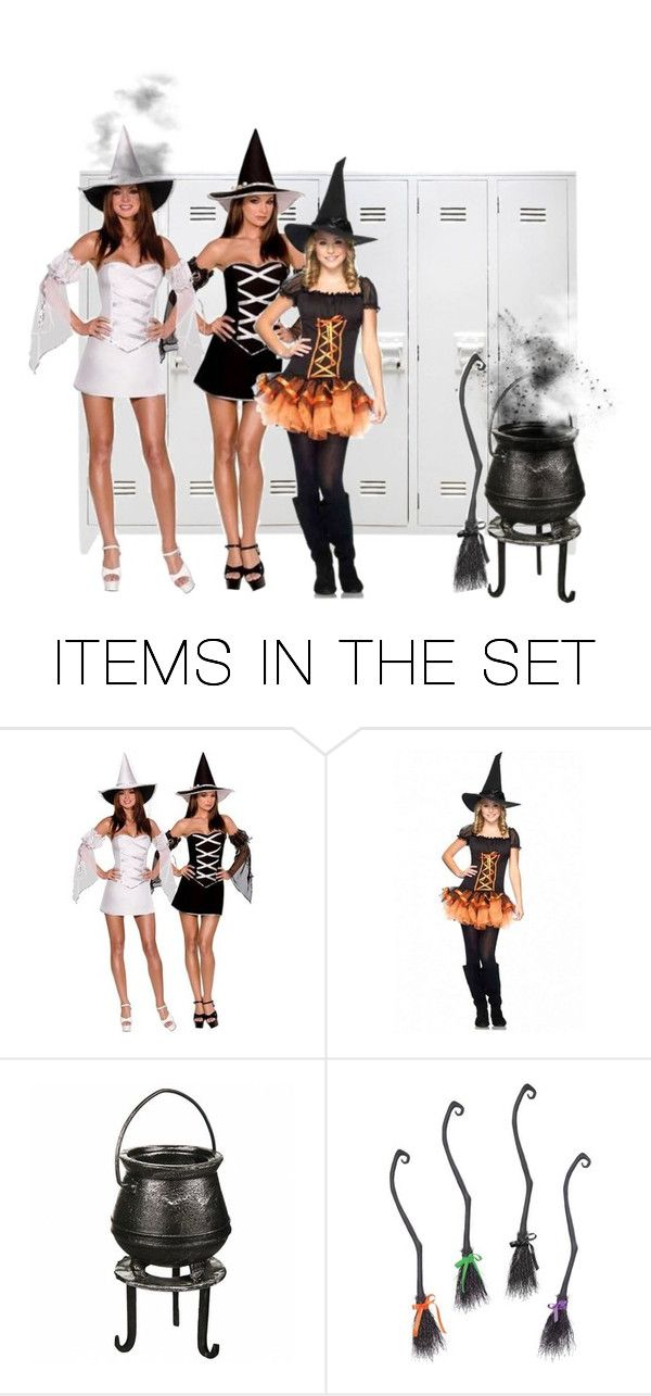 """""""Witch School"""" by kkatproducts ❤ liked on Polyvore featuring art"""