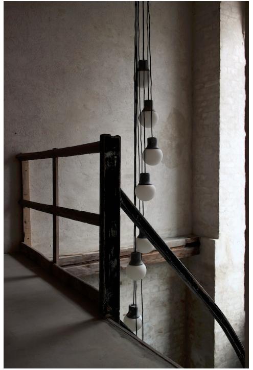 Lampen Im Treppenauge Wohnen Lighting Interior Design Und Loft