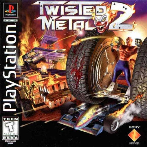 Twisted Metal 2 Sony Playstation Classic Video Games Retro