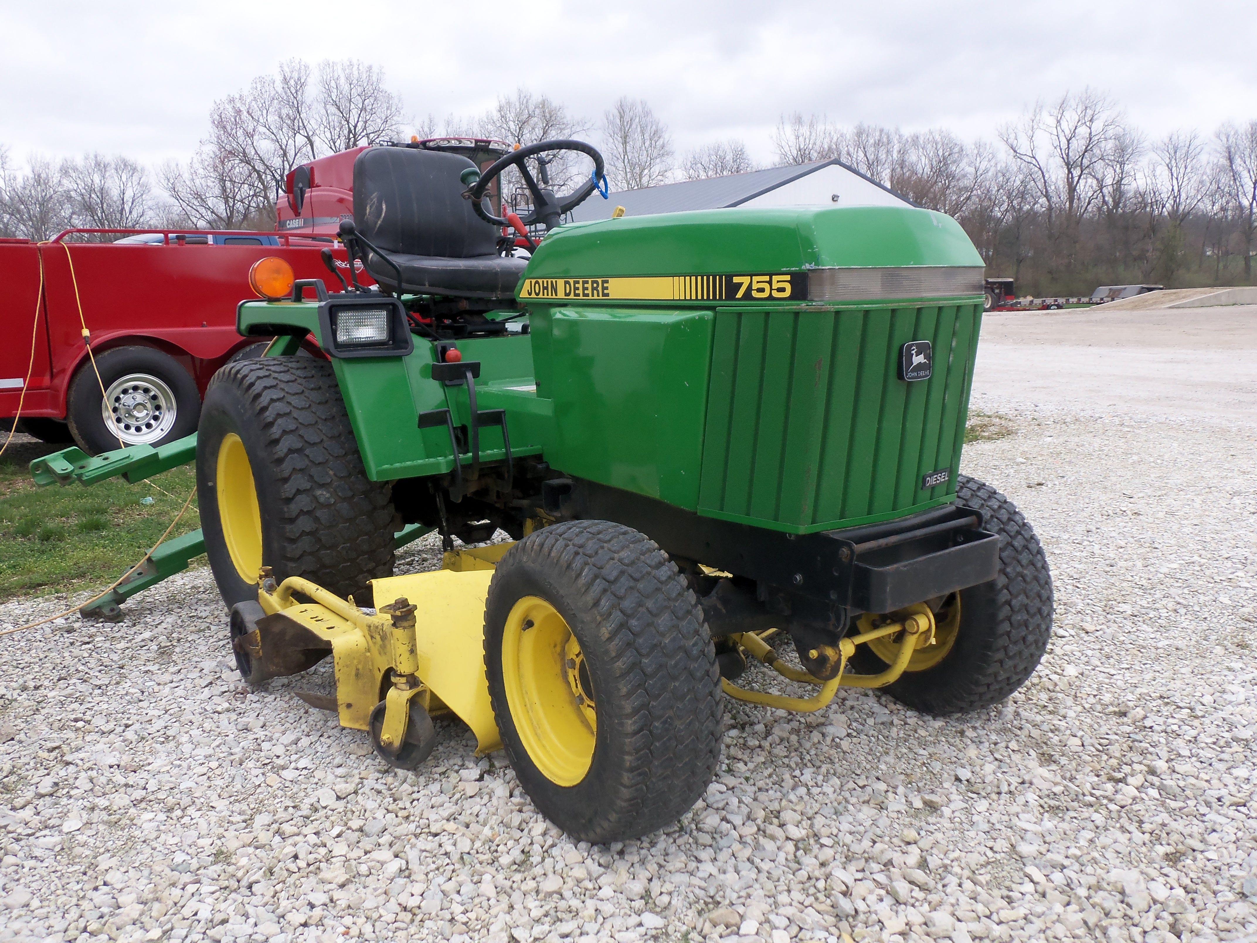 755 with john deere garden tractor styling garden tractor ideas