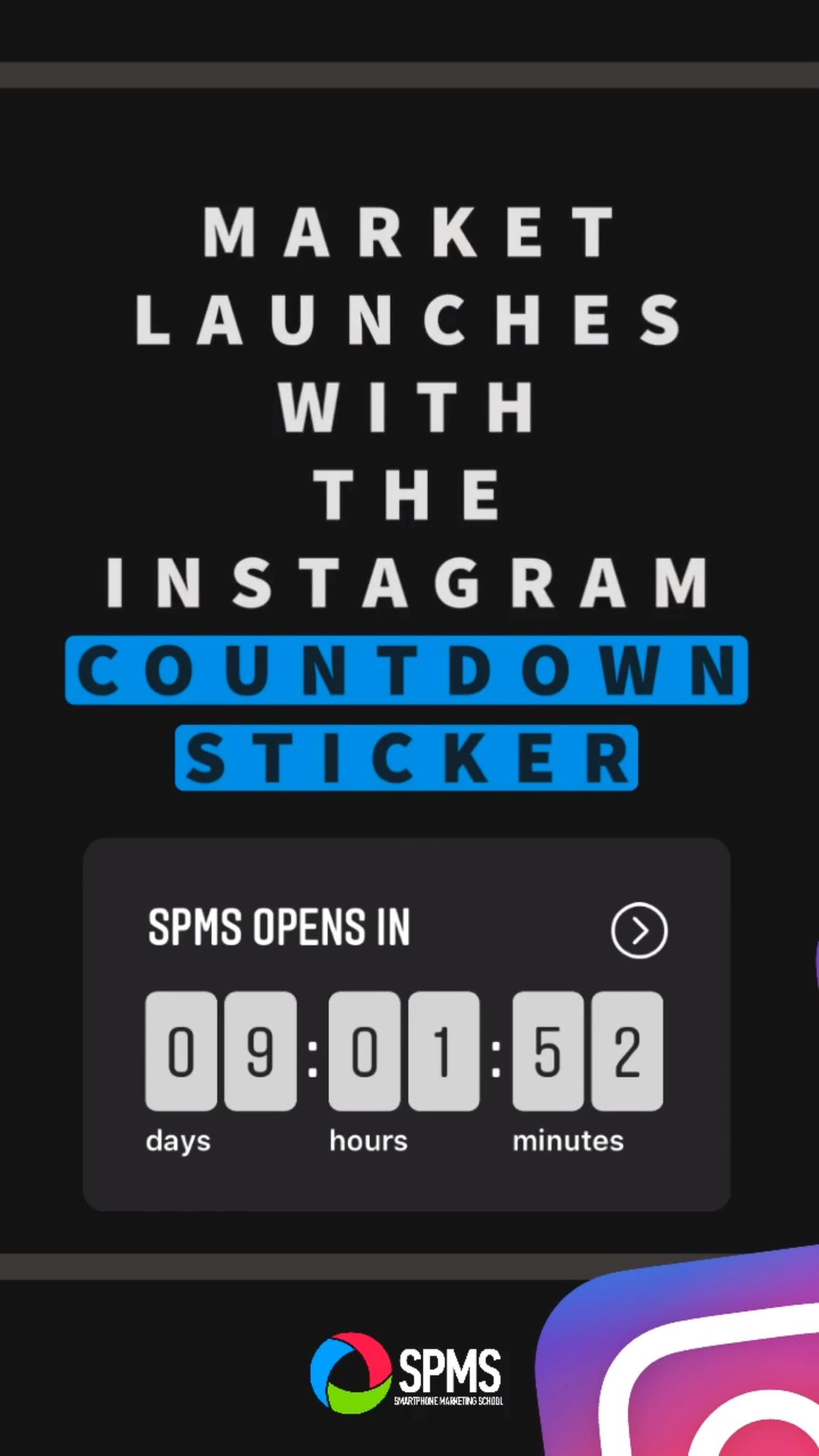 Market Your Launch With The Instagram Stories Countdown