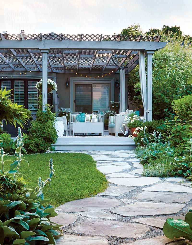 Outdoor living: Casual backyard oasis | Pinterest | En casa, Crear y ...