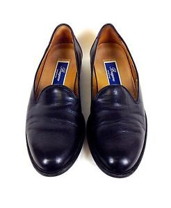 Bragano Shoes Leather Black Cole Haan Slip on Driving Loafers Italy Mens 8 5 M | eBay