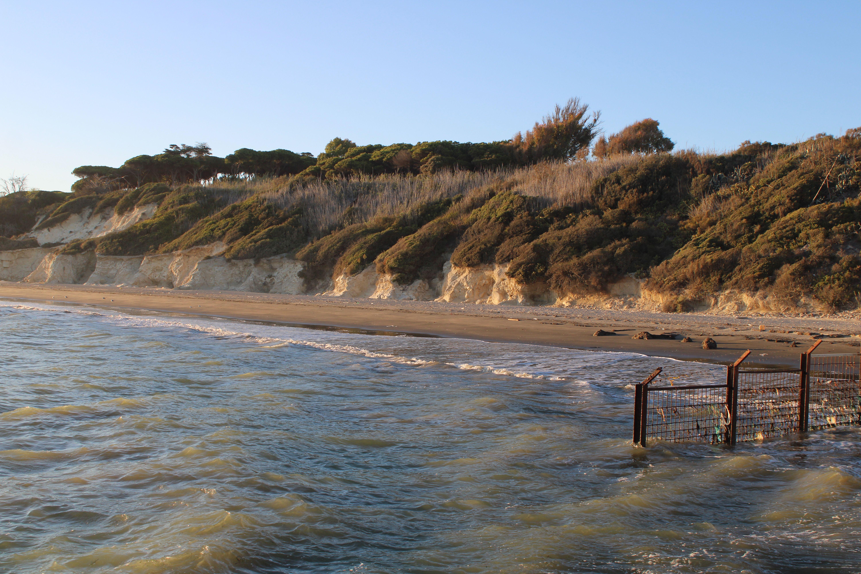 panorámica de la playa de fuentebravía en El Puerto de Santa María