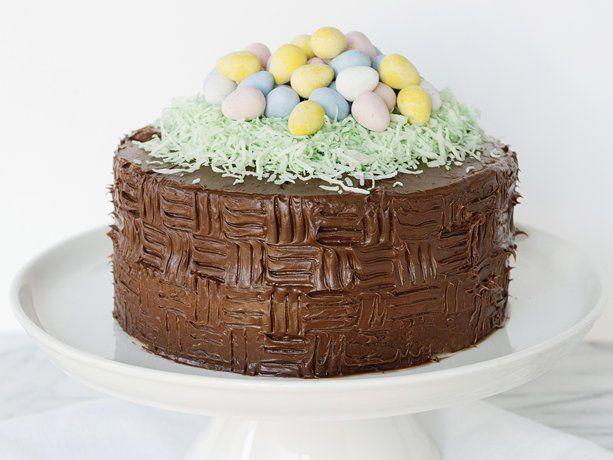 Easter Basket Cake Recipe Easter Recipes Desserts Cake Recipes