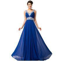ab404c242 Vestido Talla Extra Azul