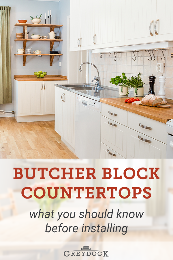 What To Know Before Installing Butcher Block Countertops Butcher Block Countertops Farmhouse Kitchen Inspiration Countertops